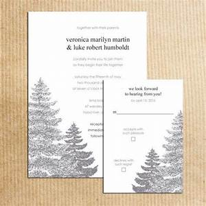 trees in the corner and texts on pinterest With wedding invitations with pine trees