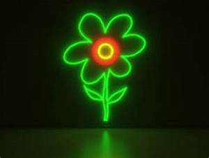 Luminous neon flower stock photo Image of invitation