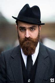 Men with Beards Wearing Hats