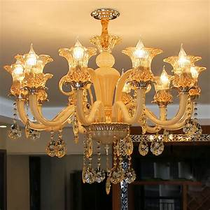 Aliexpress, Com, Buy, Gold, Crystal, Chandelier, Luxury, Living, Room, Decoration, Lamp, Dining, Room