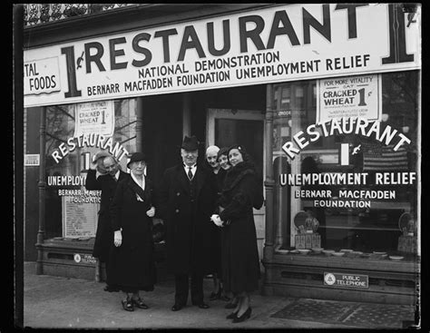 great depression penny restaurants fed