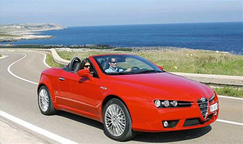 Alfa Romeo Spider Convertible Rental Hire In Rome