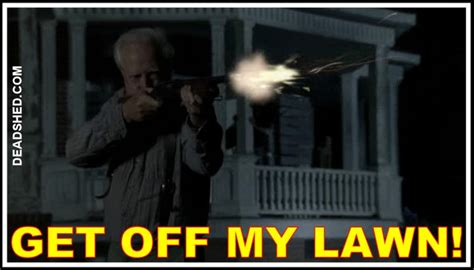 Get Off My Lawn Meme - deadshed productions the walking dead season 2 bonus memes