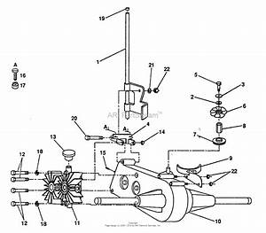 Ayp  Electrolux Pp16h44  1993  Parts Diagram For Transaxle And Pump Assembly
