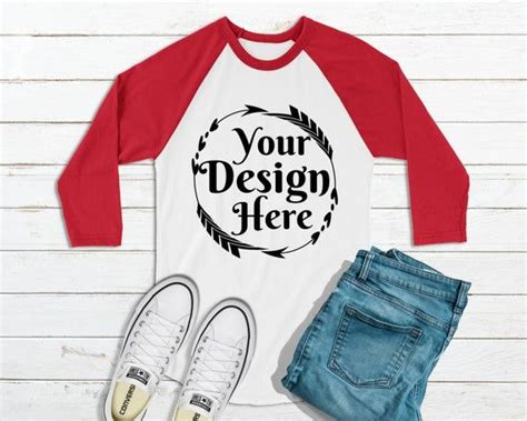 And we may not have written and performed a dazzling musical number about them for now, enjoy this men's hoodie psd mockup designed and shared by hendo pangradyan. Free Raglan Mockup Winter Holiday Red And White Raglan Tee ...