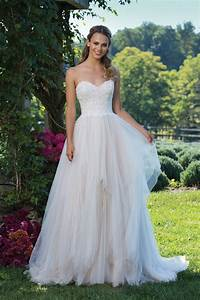 style 3974 beaded lace and handkerchief tulle ball gown With handkerchief wedding dress