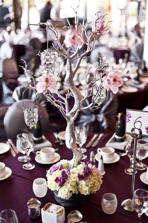 diy manzanita branch centerpiece idea wedding ideas