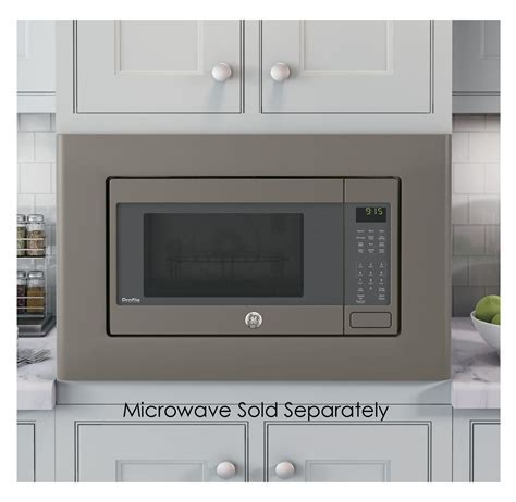 "GE Slate 30"" Built In Microwave Oven Trim Kit   JX9153EJES"