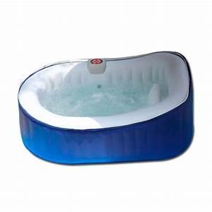 Spa 2 Places Gonflable : spa ospazia bleu 2 places ovale as03 spa jacuzzi ~ Melissatoandfro.com Idées de Décoration