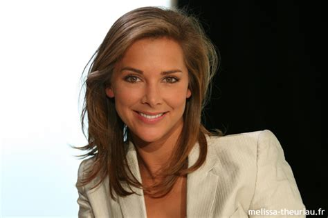Full Wallpaper Mélissa Theuriau French Journalist And
