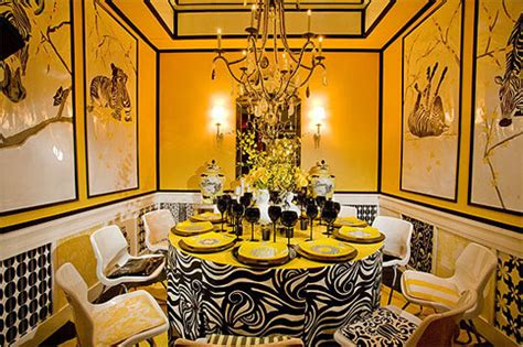 bright  colorful dining room design ideas digsdigs
