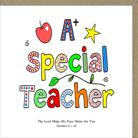 potty mouse  card  special teacher
