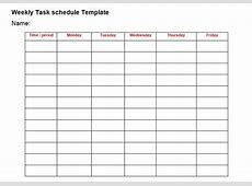 Professional Daily Task List Template Excel Tmp