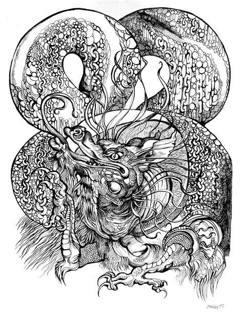 black and white tattoo drawings - Google Search   Tattoo drawings, Drawings, Dragon tattoo designs