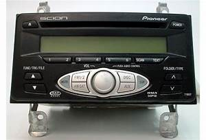 2006-2007 Scion Tc Factory Satellite Receiver Radio