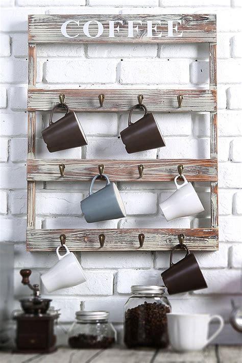 Use a cake stand in the coffee. The Best Mug Racks - Where to Buy Coffee Mug Racks