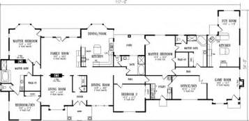 floor plans for 5 bedroom homes 5 bedroom house plans design interior