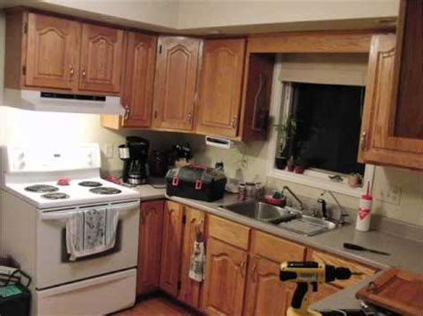 youtube painting kitchen cabinets painting oak kitchen cabinets white before and after youtube