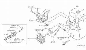 1995 Nissan Pick Up Parts Diagram : 11928 86g0a genuine nissan 1192886g0a shaft ~ A.2002-acura-tl-radio.info Haus und Dekorationen