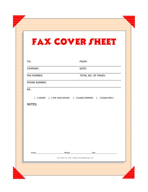 Cover Sheet Template Free Downloads Fax Covers Sheets Free Printable Fax