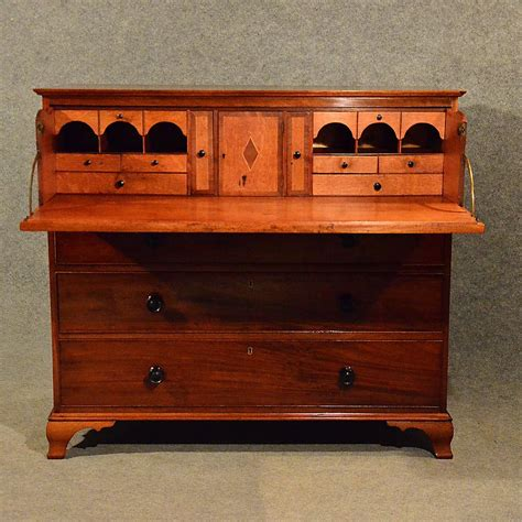 secretaire baise bureau antique mahogany bureau chest drawers secretaire
