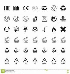 Packaging Symbols Set, Vector Stock Vector - Illustration ...