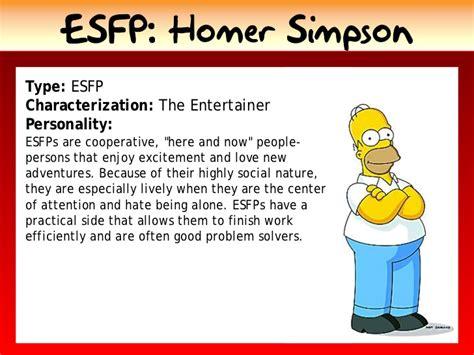 Homer Simpson Type