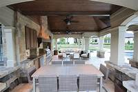 best french country outdoor kitchen French Country Style - Home & Design Magazine