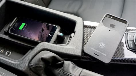 bmw wireless charging aircharge announces wireless iphone charging for bmw