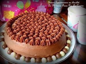Image De Gateau D Anniversaire : gateau d 39 anniversaire au chocolat par docteur chocolatine ~ Melissatoandfro.com Idées de Décoration
