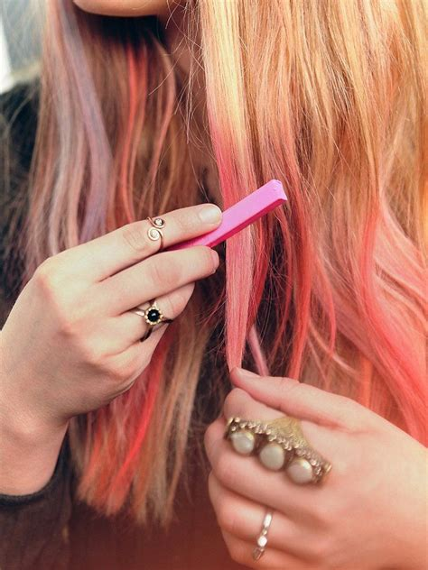 Free People Ombre Hair Chalk Pastel My Hair And Festivals