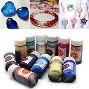 bottles epoxy color uv resin coloring dye colorant resin