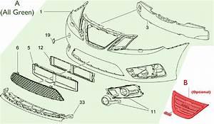 93000001  Saab Griffin Bumper Upgrade Kit - Aero  W   Headlamp Washers