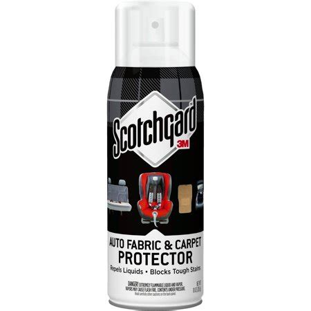 3m Scotchgard Carpet And Upholstery Protector by 3m 47155 Scotchgard Auto Fabric And Carpet Protector 10