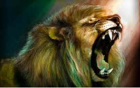 Lion Desktop Wallpaper...