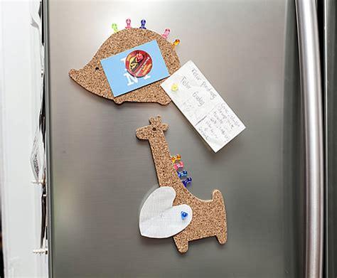 animal cork board fridge magnet kikkerland gifts