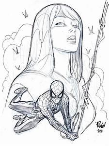 SPIDER-MAN and MARY JANE by Wieringo on DeviantArt