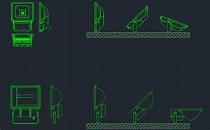 Lightning rod free cad block and autocad drawing