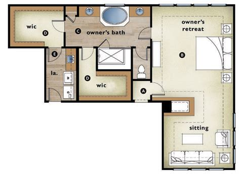 Master Bedroom Plans With Bath by Master Bedroom Plans With Shower And Walk In Closet Www