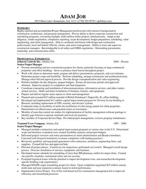 junior project manager resume resume ideas