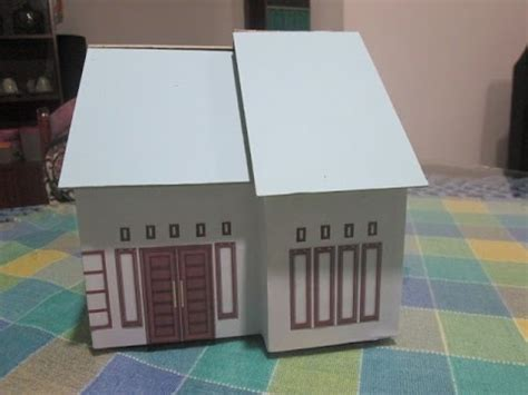 tutorial membuat miniatur rumah minimalis part  youtube