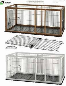 top 25 ideas about dog pen on pinterest mud rooms pet With dog crate and pen