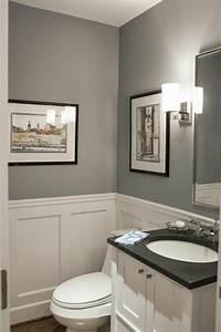 Wandfarbe Für Bad : wandfarbe grau 29 ideen f r die perfekte hintergrundfarbe ~ Michelbontemps.com Haus und Dekorationen