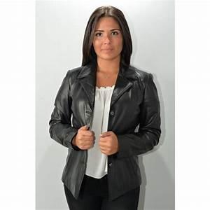 Blazer Femme Noir : blazer cuir femme murphy levana noir murphy cuir ~ Preciouscoupons.com Idées de Décoration