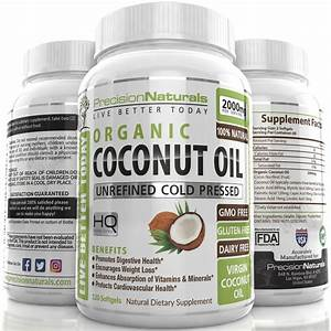 Top 5 Coconut Oil Capsules Of 2019  Do Not Buy Before Reading This