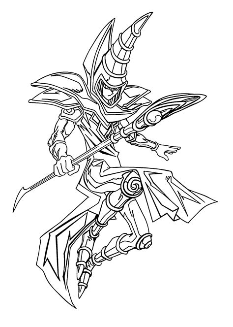 yu gi  coloring pages    print