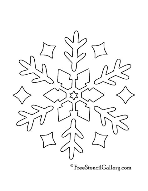 printable snowflake template 9 best images of snowflake printable stencils printable snowflake stencils free printable