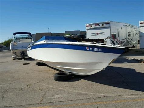 Boat With Salvage Title by Auto Auction Ended On Vin Welp5092h889 1989 Well Boat In