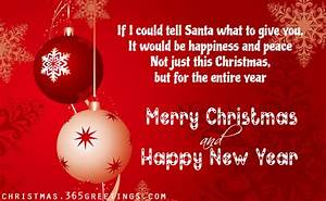 Short Christmas Wishes and Short Christmas Messages ...