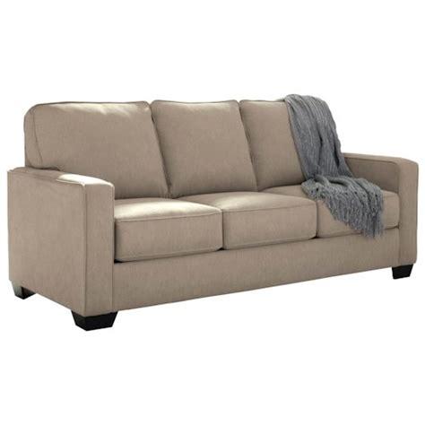 signature design  ashley zeb  full sofa sleeper